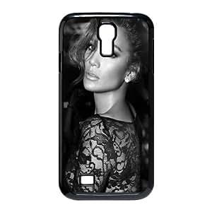 Samsung Galaxy S4 9500 Cell Phone Case Black_Jennifer Lopez Black And White Hcrzx