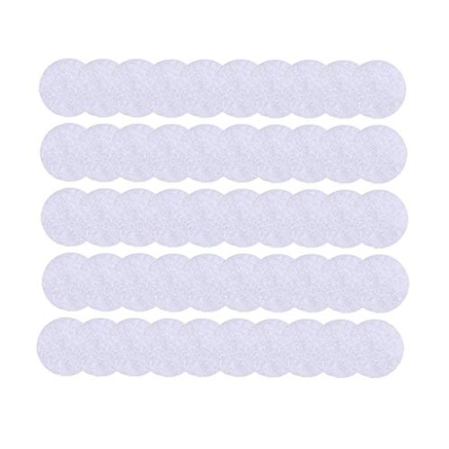 Iusun Self Adhesive Strong Adhesive 500pcs Diameter Sticky Back Coins Nylon Coins Hook