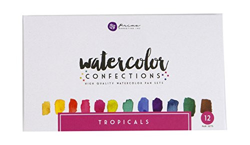 Prima Marketing Watercolor Confections: Tropicals