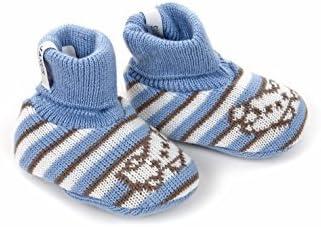 Merino Wool Baby Slippers Booties Made