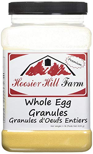 Hoosier Hill Farm Whole Egg Granules All Natural 100 Real Eggs 1 Lb Amazon Com Grocery Gourmet Food