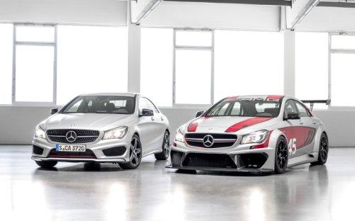 2014 Mercedes Benz Cla 45 Amg Racing Series 11X17 Photo