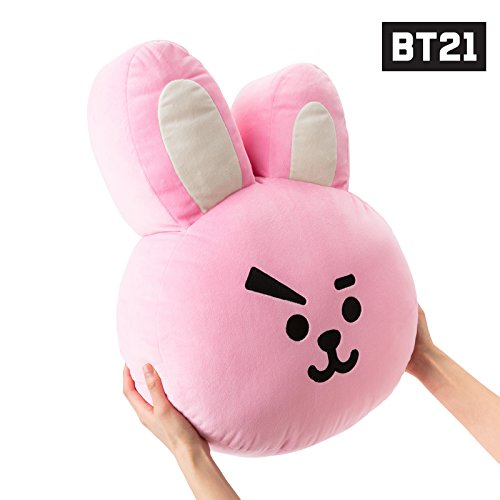 BT21 Cooky Cushion 16.5 inches Pink by BT21 (Image #1)