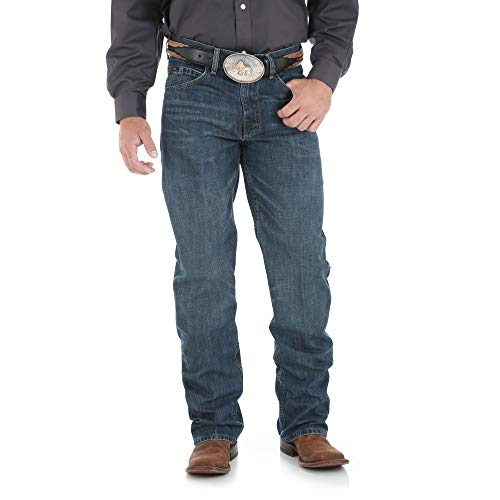 Wrangler Men's Xtreme Relaxed Competition Jean,River Wash,38x32 ()