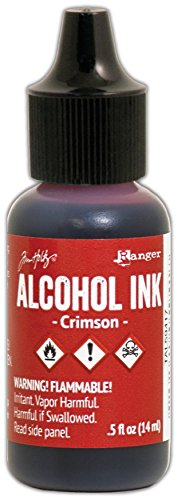 (Ranger Crimson Tim Holtz Alcohol Ink .5oz)