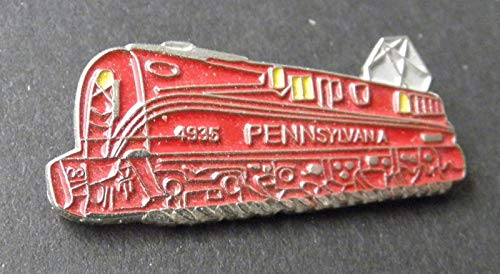Pin for Jackets - Pennsylvania Railroad 4935 Locomotive Train Lap PIN HAT Badge 1 INCH - Accessories for Men and Women