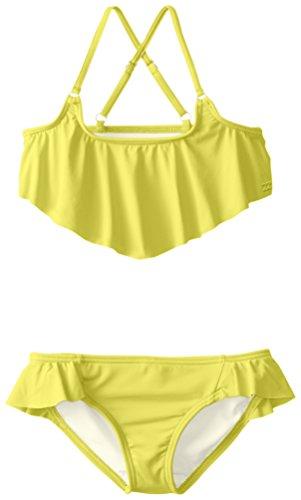 Billabong Little Girls' Sol Searcher Flounce Top Bikini