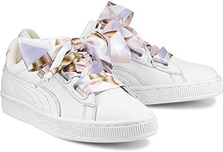lápiz valores educar  PUMA Women's Basket Heart Geo Camo, Whisper White, 9 US: Amazon.com.au:  Fashion