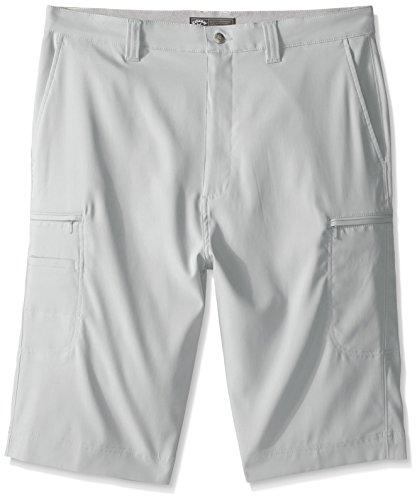 Callaway Men's Big & Tall Golf Performance Flat Front Cargo Shorts, High Rise, 36 Tall