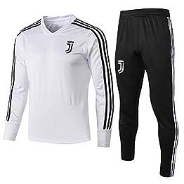 ZuanShiDaHeng Uniforme de Football Club Uniforme Cadeau Costume V-Cou Équipe Compétition Hommes Men