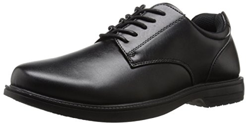 Deer Stags Men's Crown Oxford, Black, 11 W US