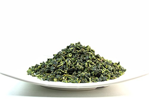 High mountain Oolong Ti Kuan Yin Jade Oolong Tea, A brisk flavour tea that is complemented by a flowery aroma - 4 Oz ()