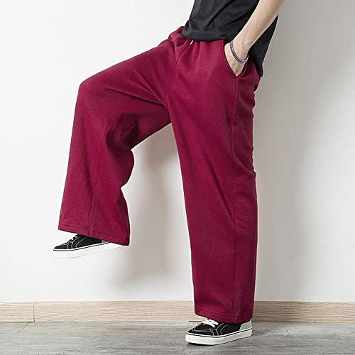 Hip Survêtement Rouge Hop Lâche Homme Pantalon Pour Sarouel Pantalons De wZxX7qFO