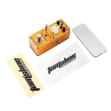 Pedal de efectos de sonido APN-3 Mini Vintage ecualizador de guitarra eléctrica Digital True Bypass Stompbox de Aroma Music: Amazon.es: Instrumentos ...