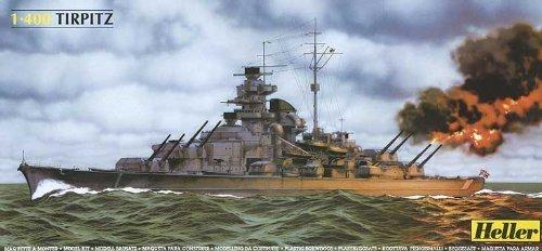 Tirpitz German Battleship 1/400 Heller by Heller -