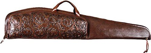 Western Chocolate Scoped Rifle Case by 3D Belt