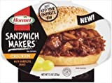 Hormel Sandwich Makers Chicken with Barbecue Sauce 7.5 oz (Pack Of 6) by Hormel