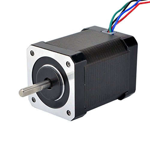 STEPPERONLINE High Torque Low Current Nema 17 Stepper Motor 85oz.in/60Ncm 0.64A Extruder Motor