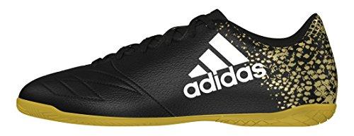 adidas X 16.4 In, Botas de Fútbol para Hombre Negro (Negbas / Ftwbla / Dormet)
