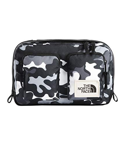 (The North Face Unisex Kanga Pack TNF Black Psychedelic Print/TNF Black One Size)