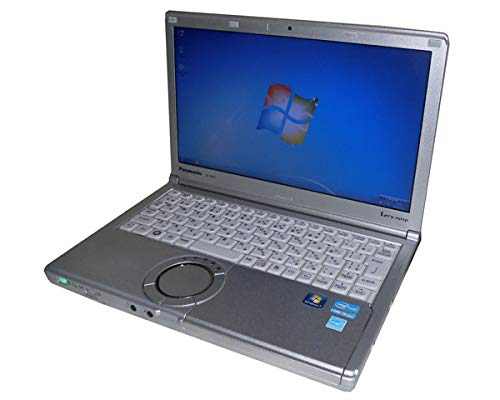ワケあり(ACアダプタ欠品) 中古ノートパソコン Windows7 Pro 32bit Panasonic Let'sNote CF-NX1 (CF-NX1GDHYS) Core i5-2540M 2.6GHz/2GB/250GB/光学ドライブなし/12.1インチ/レッツノート/高解像度 HD+(1600×900) (NO-12617-2)   B07LBL173H