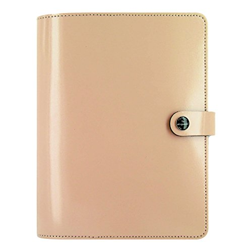 Filofax The Original Leather Organizer - Nude - A5 (8.25 x 5.75) Any Year Planner with to do and contacts refills - indexes and notepaper (C022387)