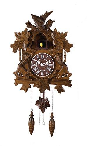 14-inch Classic Birds and squirrels Cuckoo Clock, Home Decor, Specialty Quality, Quartz Timepieces - C00126