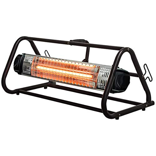 Heat Storm HS-1500-WRC Infrared Heater, 13 ft Cord (Workspace), Roll Cage