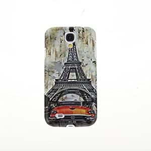 DUR French Tower Pattern Hard Back Cover Case for Samsung Galaxy S4 I9500