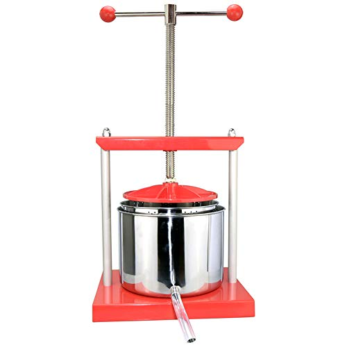 EJWOX 1.6 Gallon Stainless Steel Soft Fruit Wine Juice Press Cheese Making Press by EJWOX (Image #5)