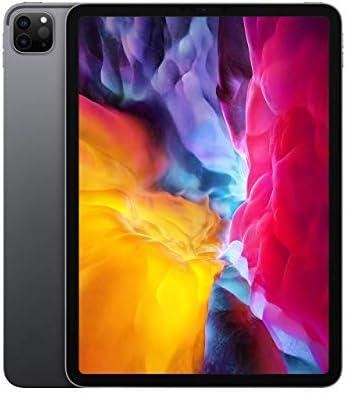 Apple iPad Pro (11-inch, Wi-Fi, 128GB) - Space Gray (2d Generation) (2020) (Renewed)