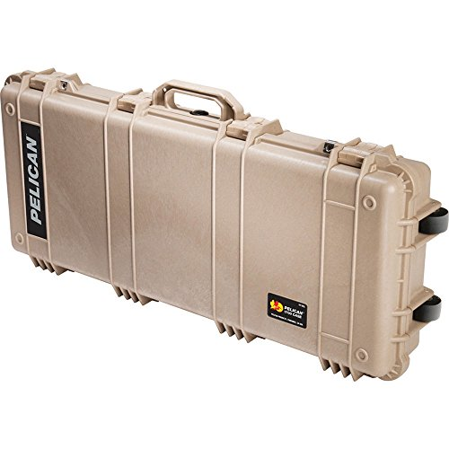 Pelican 1700 Case with Foam (Desert Tan)