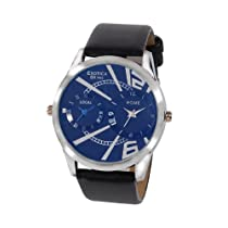 Exotica Analog Blue Dial Men