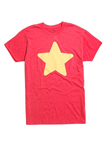 Hot Topic Steven Universe Star T Shirt Red Large