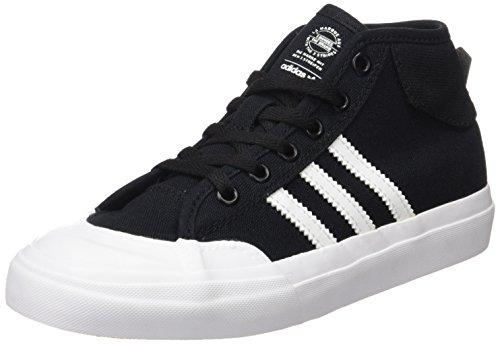 adidas Matchcourt Mid J, Zapatillas de Gimnasia Unisex–Niños Nero (Negbas/Ftwbla)
