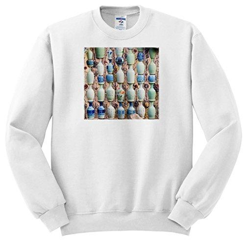 Danita Delimont - Patterns - Chinaware Jugs Adorn The Porcelain House, Tianjin, China - Sweatshirts - Youth Sweatshirt Large(14-16) (SS_276759_12)
