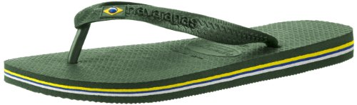 Havaianas Men's Brazil Logo Flip Flops,Amazonia,45/46 BR (13 M - Havaianas Buy
