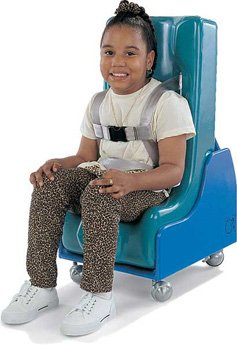 Tumble Forms Floor Sitter (Tumble Forms 2-Piece Mobile Floor Sitter - Steel Base ONLY - x-large - blue)