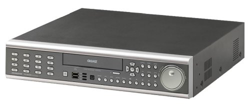 Ganz DR16ND-500 Digimaster 16 Channel DVR With 500 GB HDD & Internal DVD DR Writer