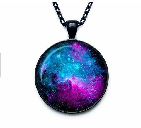 NEBULA Pendant Nebula Necklace Universe Jewelry galaxy neckl
