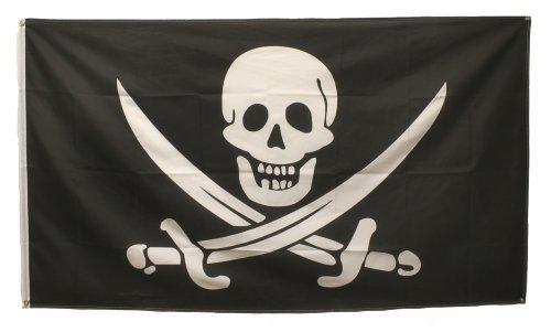 3' X  (Halloween Pirates)