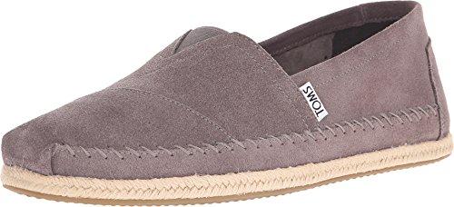 TOMS Men's Seasonal Classics Grey Suede Loafer -