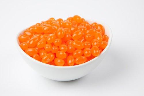 Jelly Belly Sunkist Tangerine Jelly Beans (10 Pound Case) - Orange