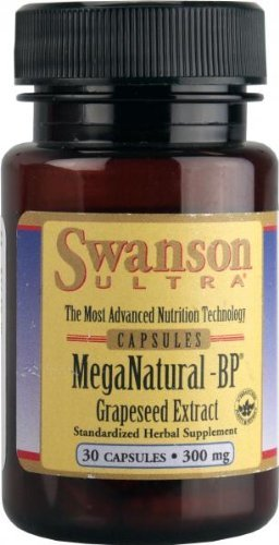 Meganatural-bp Grapeseed Extract 300 Mg 30 Caps (Pack of 2) -
