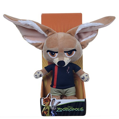 Posh Paws Zootropolis 10-Inch Disney Finnick Soft Plush Toy