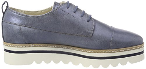 up Marc Stringate O'Polo Scarpe 181 Oxford Gunmetal Donna Lace Shoe Blu Grey wqZ6EWZF