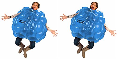 (2-Pack) Wearable Inflatable Bumper Zorb Balls 36