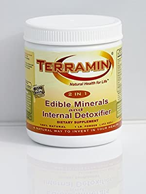 Terramin 2in1 Edible Minerals & Internal Detoxifier by California Earth Minerals