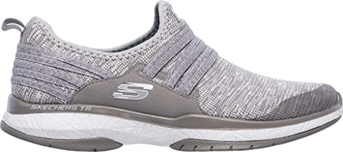 Sneakers Gris Inside Gris 12668 Skechers out Burst ZWHXTZqr