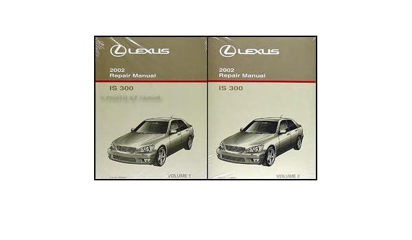 2002 lexus is300 owners manual